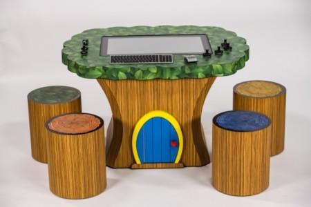 Lenovo propone muebles para integrar su sobremesa Horizon
