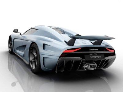 Sólo cinco segundos, lo que necesita el Koenigsegg Regera para montar una barbacoa de ruedas