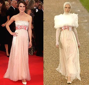 Keira Knightley sigue apostando por Chanel en Venecia
