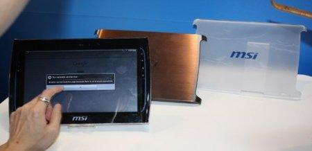 MSI WindPad 100 y 110, tablets con dos sabores muy diferentes