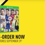¿Loco por el fútbol en la consola? Pues ya puedes reservar FIFA 17 para Xbox One de forma anticipada