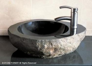 Simplicidad y glamour  para el cuarto de baño