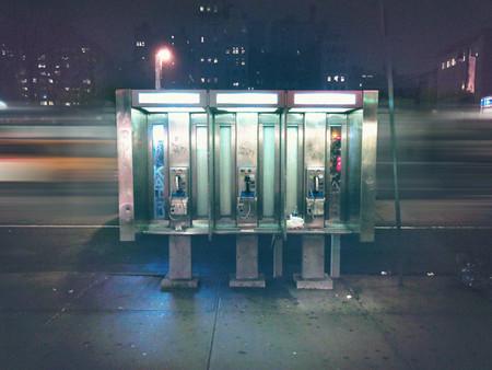 Cabinas de teléfono en Nueva York