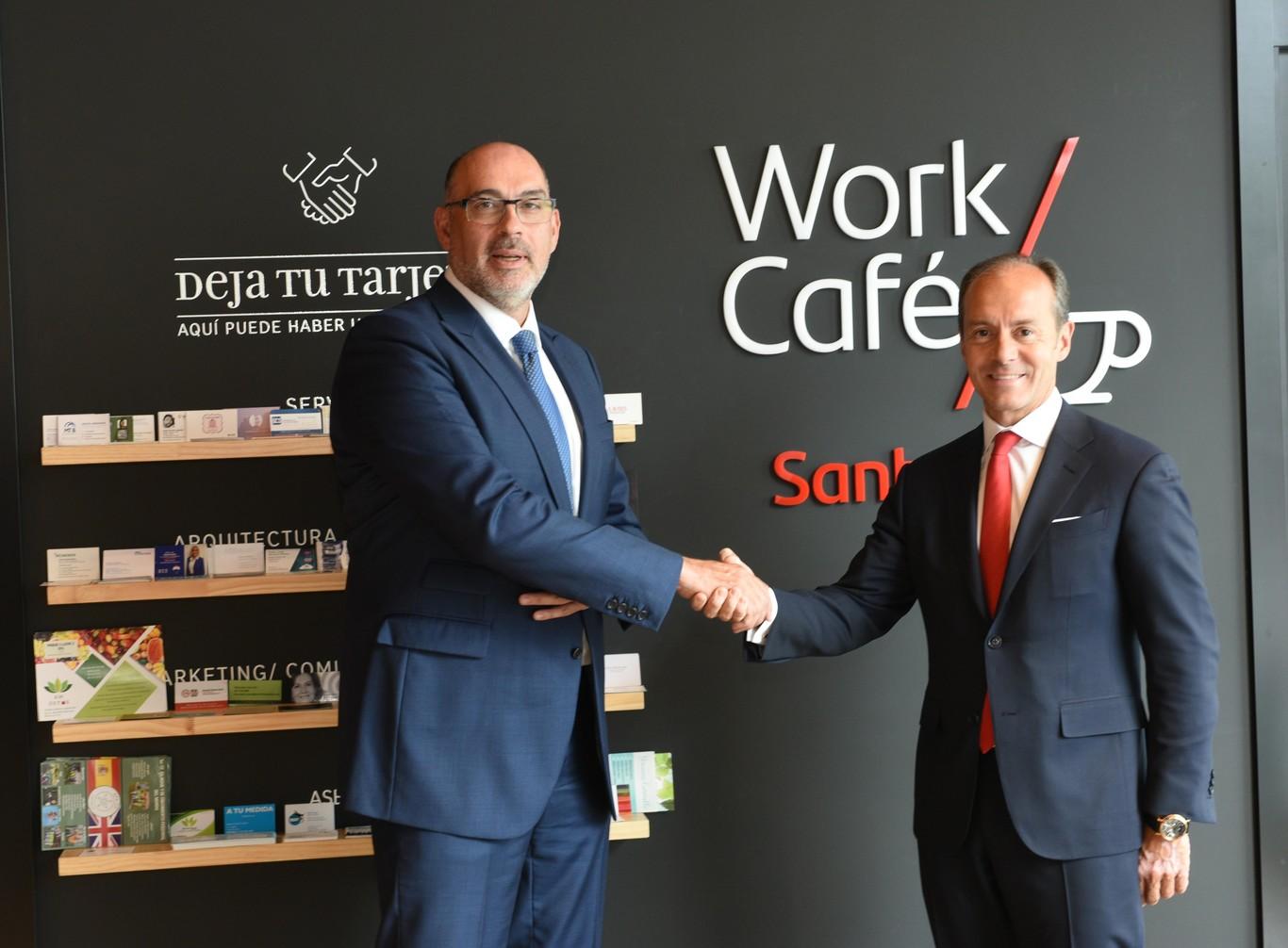 Telefónica y el Santander ponen en marcha la primera oficina Smart Red 5G en Alcobendas, que ya es ciudad piloto
