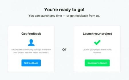 Kickstarter se relaja: simplifica sus reglas y lanza 'Launch Now'