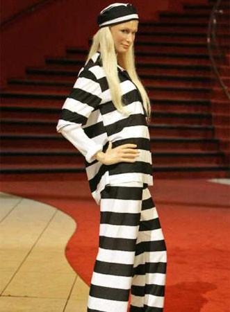 Paris Hilton en cera