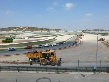 El Circuito de la Comunidad Valenciana Ricardo Tormo se reasfalta por completo