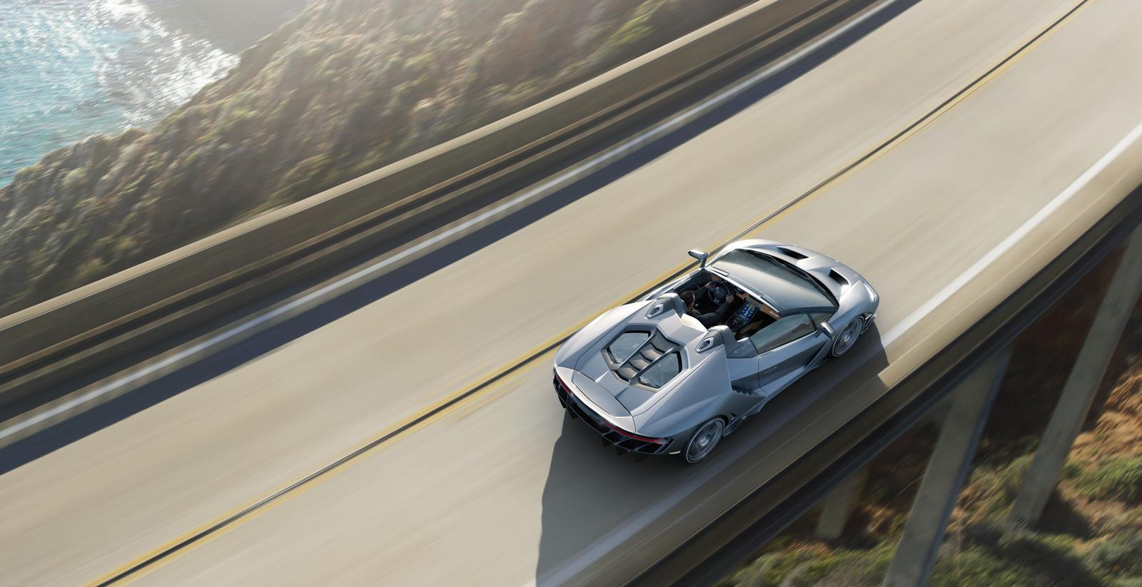 17 fotos más de Lamborghini Centenario Roadster