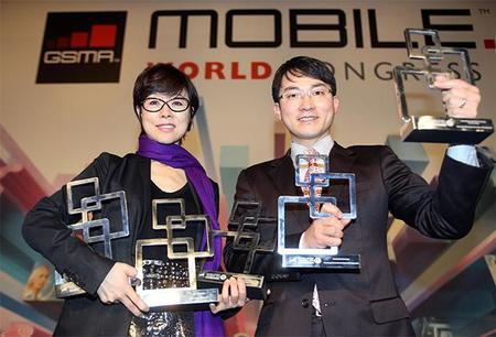 Samsung se lleva 5 premios del Mobile World Congress 2013