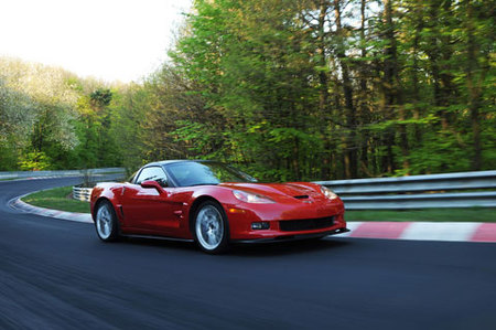 El Chevrolet Corvette ZR1 en Nürburgring, ahora en fotos