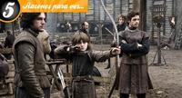 Cinco razones para ver 'Juego de tronos'