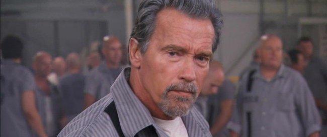 Arnold Schwarzenegger en 'The Tomb'