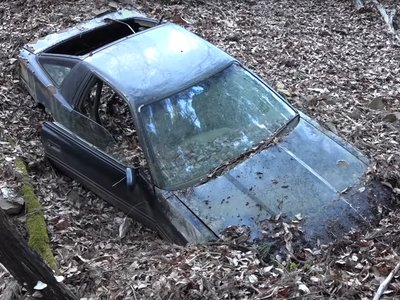 La leyenda del Toyota Supra abandonado en las montañas de Japón que resultó ser cierta