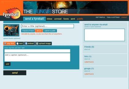 Fyreball, comparte contenidos adjuntos con tus amigos sin usar el correo electrónico