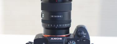 Sony 20 mm F1.8 G, toda la información y análisis del nuevo gran angular luminoso para cámaras Sony E de formato completo