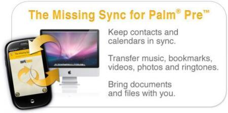 The Missing Sync para Palm Pre en beta