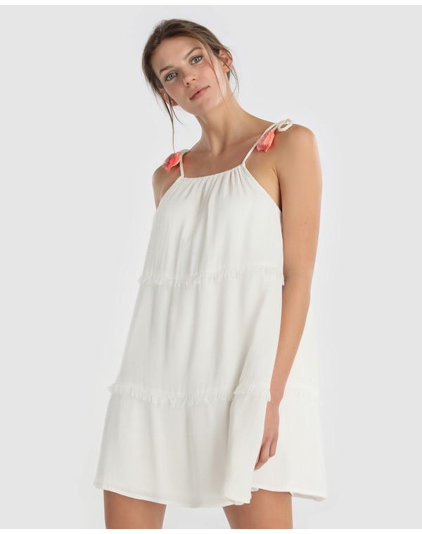 Foto de Vestidos blancos bohemios en moda UNIT (5/5)