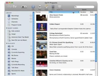 EyeTV 3 mañana en la MacWorld 08