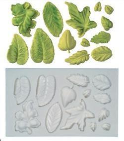 Molde para hacer hojas