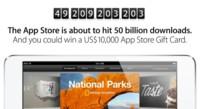 Cuenta atrás: la App Store está a punto de alcanzar las 50 mil millones de descargas