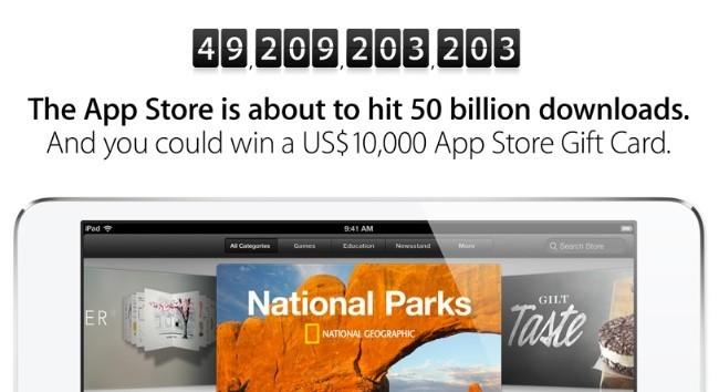 apple cuenta atrás app store