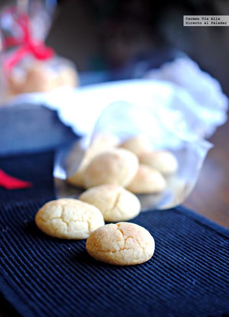 Galletas de natillas y chocolate blanco: un capricho de receta fácil y rápido de preparar