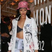 Si no lo lleva Rihanna, no lo viste nadie. El look de los grafitis de Dior