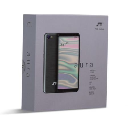 'Aura': así es el smartphone con Android Go más económico en México