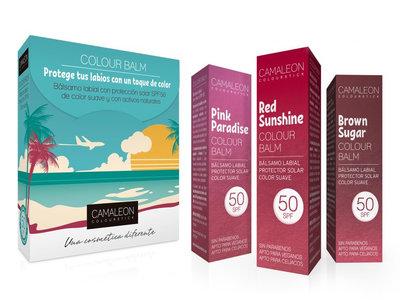 Colour Balm de Camaleon, los bálsamos de labios que necesitas en tu neceser de verano