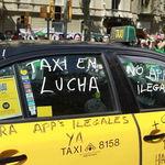 Qué piden los taxistas para acabar su huelga contra Cabify y Uber