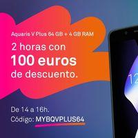 Oferta Flash: BQ Aquaris V Plus 64GB+4GB con 100 euros de descuento utilizando este cupón