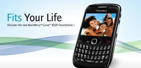 BlackBerry 8520, con fecha en EEUU