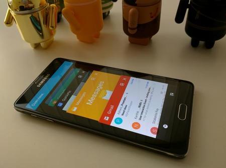 TouchWiz tiene mejor integración con Lollipop que con cualquier otra versión