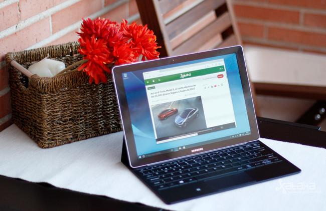 Samsung Galaxy TabPro S, análisis: un convertible con luces y sombras