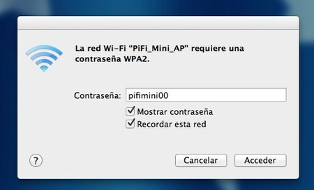 Conectándonos al punto de acceso PiFi_Mini_AP