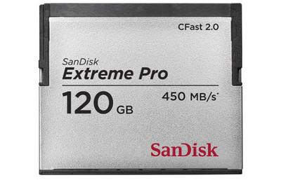 Sandisk Extreme Pro CFast 2.0, la primera tarjeta compatible con estándar CFast 2.0