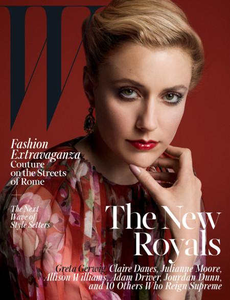 W Magazine (IV): Greta Gerwig