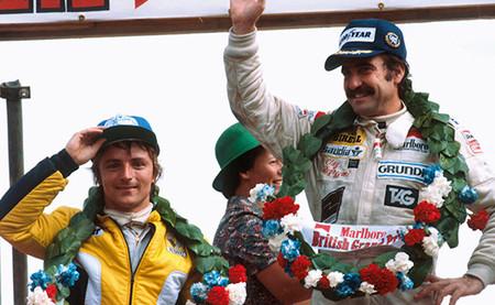 Podio GP Gran Bretaña 1979