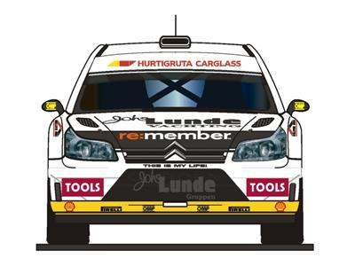 El nuevo Citroën C4 WRC de Petter Solberg
