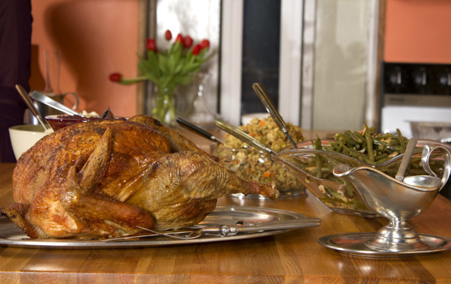 Recetas para la cena de Acción de Gracias - Magazine cover
