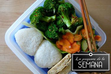 ¿En tus comidas de trabajo prefieres llevarte un táper o tomar el menú del día? La Pregunta de la semana