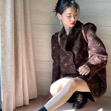 Adele y HoYeon Jung revolucionan las RRSS con esta chaqueta de Louis Vuitton