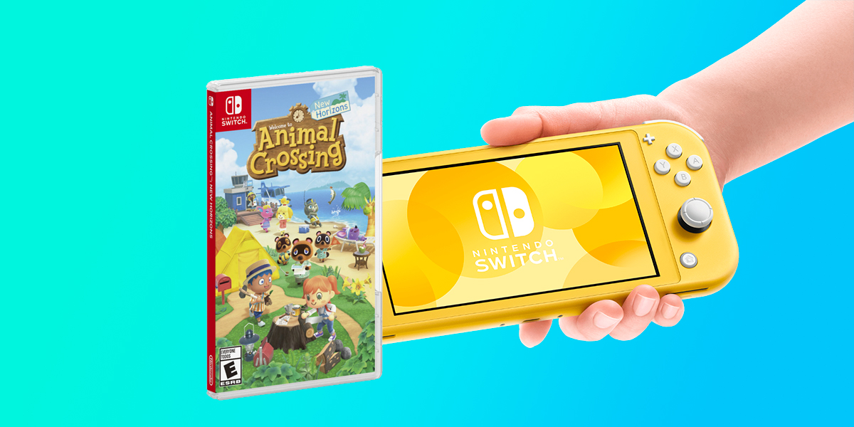 Pack Nintendo Switch Lite + Animal Crossing New Horizons