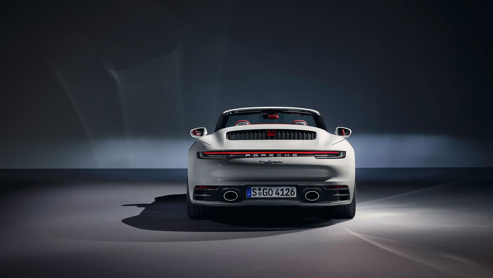 Foto de Porsche 911 Carrera y Carrera Cabriolet 2019 (11/12)