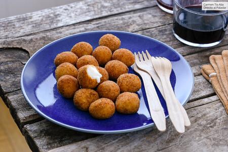 Receta de bocaditos de mozzarella para un picoteo muy fácil, rápido y delicioso