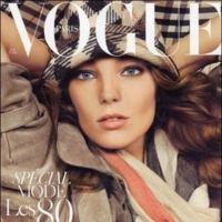 Daria Werbowy en la portada más comedida de Vogue París
