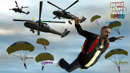 'GTA IV: The Ballad of Gay Tony', helicópteros, tanques y paracaídas