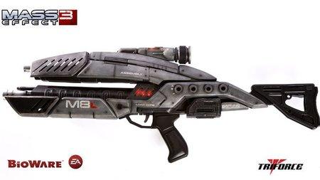 El rifle de asalto de 'Mass Effect 3'. Tú también lo quieres... y puedes comprártelo