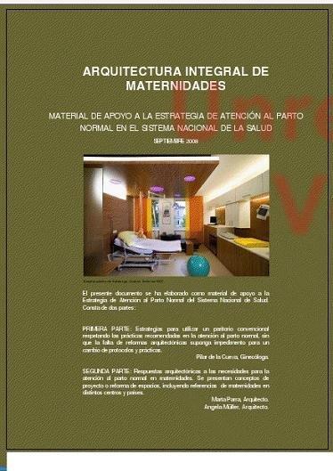 """""""Arquitectura integral para maternidades"""", así debería ser un centro de atención al parto"""