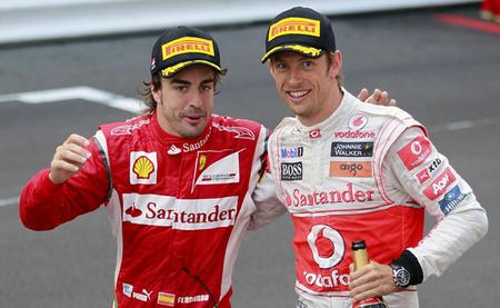 """Jenson Button: """"quizás en un universo paralelo trabajaría con Fernando Alonso"""""""